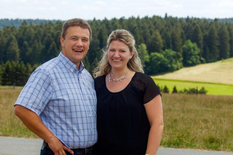 Martin und Anja Keller